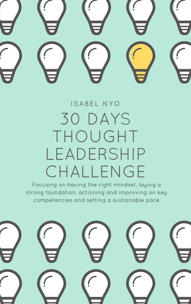 30 Days Thought Leadership Challenge