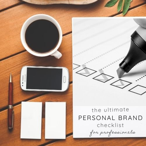 The Ultimate Personal Brand Checklist