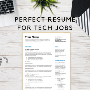 Perfect Resume For Tech Jobs